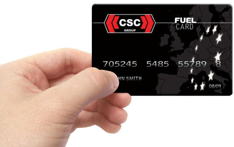 The <b>CSC Fuel Card</b>